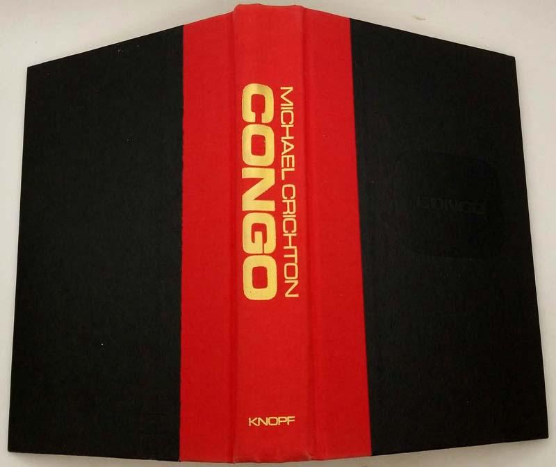 Congo - Michael Crichton 1980 | 1st Edition