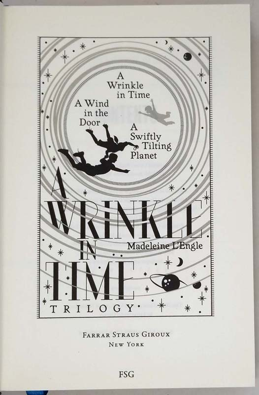 A Wrinkle in Time Trilogy - Madeleine L'Engle 2015