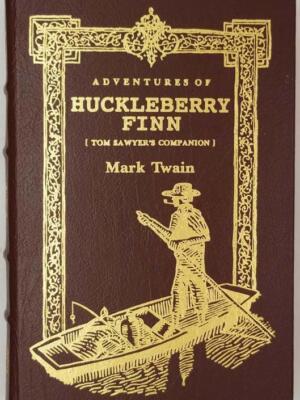 Adventures of Huckleberry Finn - Mark Twain 1994 | Easton Press