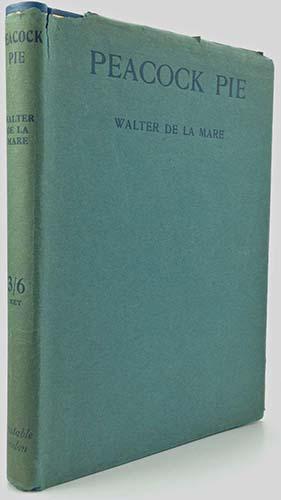 peacock pie - Walter de la Mare 1913