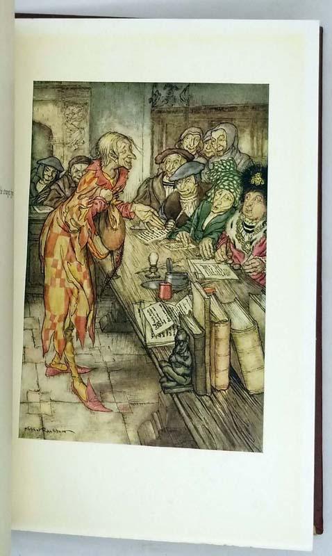The Pied Piper of Hamelin - Illus. Arthur Rackham 1934 | 1st Edition