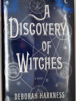 A Discovery of Witches - Deborah Harkness 2011 | 1st Edition SIGNED