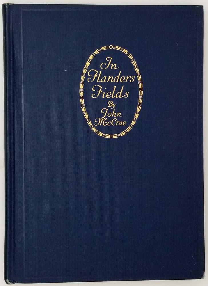 In Flanders Fields - John McCrae 1919 | 1st Edition