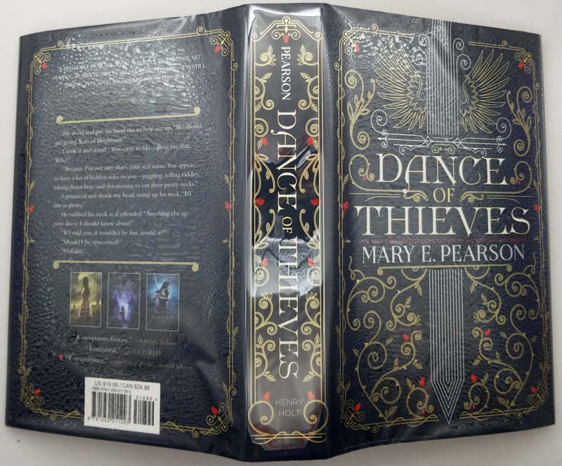 Dance of Thieves - Mary E. Pearson 2018 | 1st Edition SIGNED