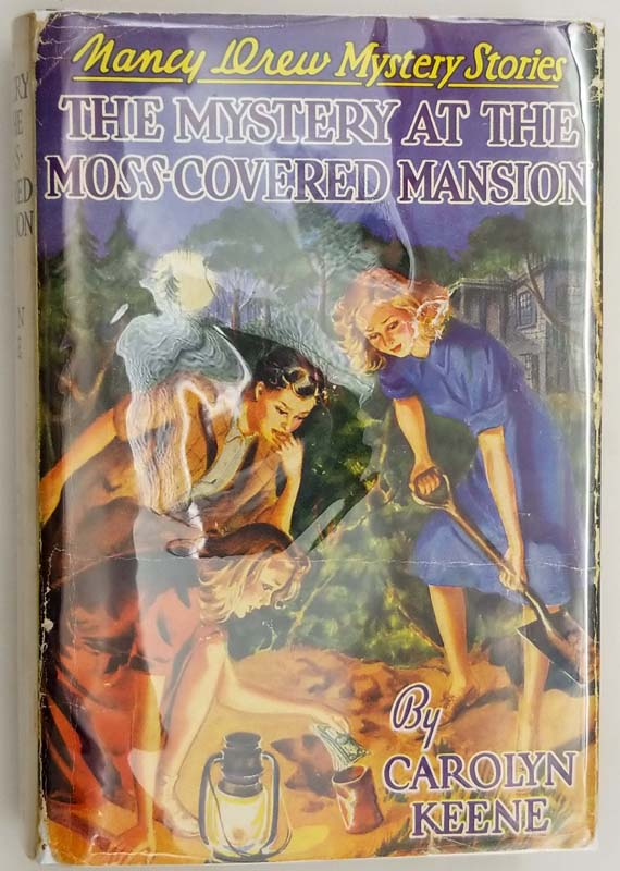 Nancy Drew - Mystery at the Moss-Covered Mansion 1941   1st Edition