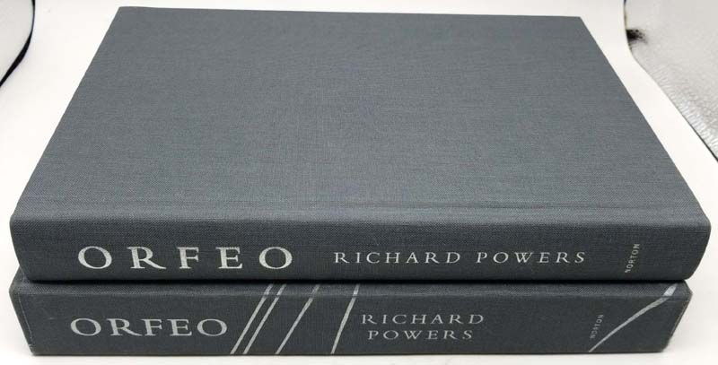 Orfeo - Richard Powers 2014   1st Limited Edition SIGNED