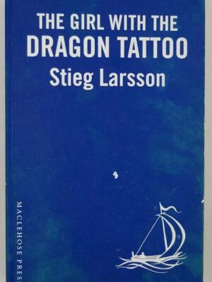 The Girl with the Dragon Tattoo - Stieg Larsson 2008 | ARC Proof 1st Edition