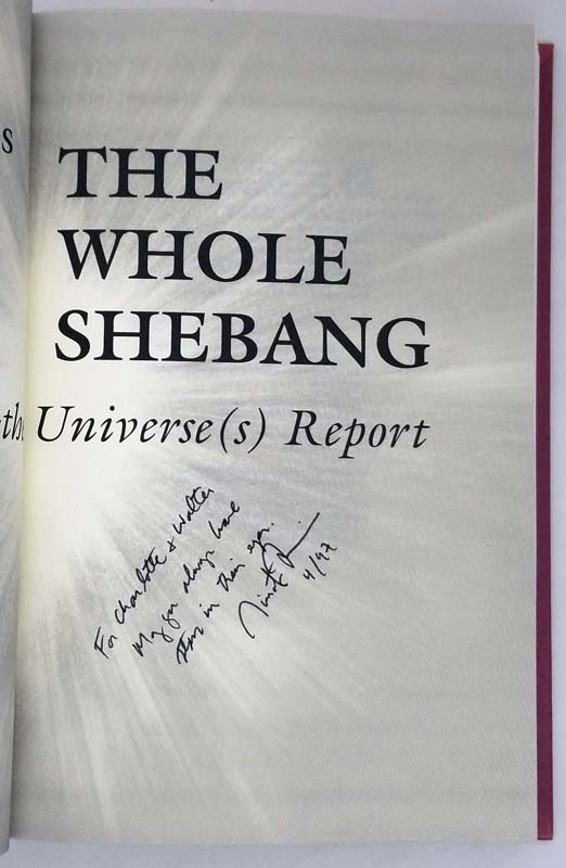 The Whole Shebang: A State-Of-The Universe - Timothy Ferris 1997 | 1st Edition