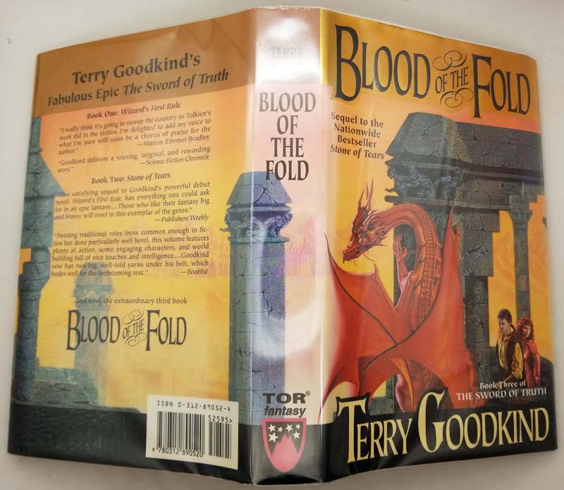 Blood of the Fold - Terry Goodkind 1996 | 1st Edition