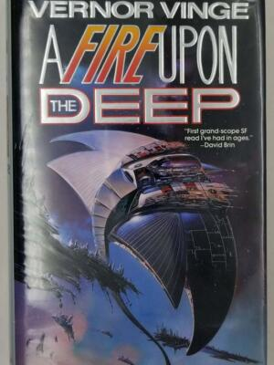 A Fire Upon The Deep - Vernor Vinge 1992 | 1st Edition