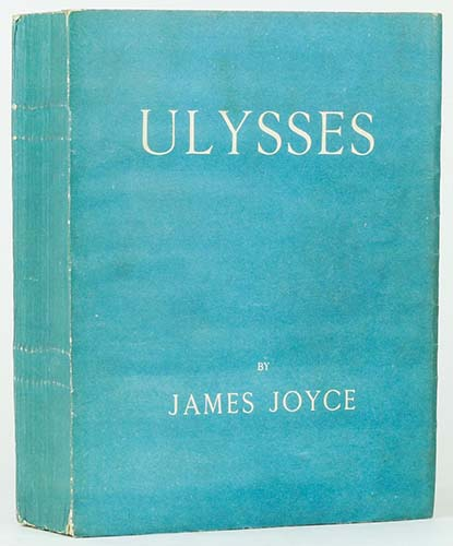 Ulysses - James Joyce. First edition 1922