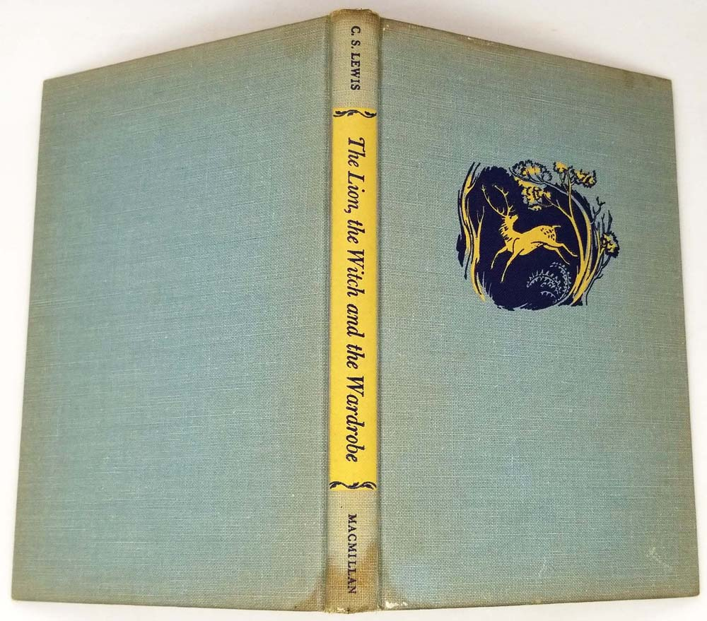 The Lion, the Witch and the Wardrobe - C.S Lewis 1950 | 1st Edition