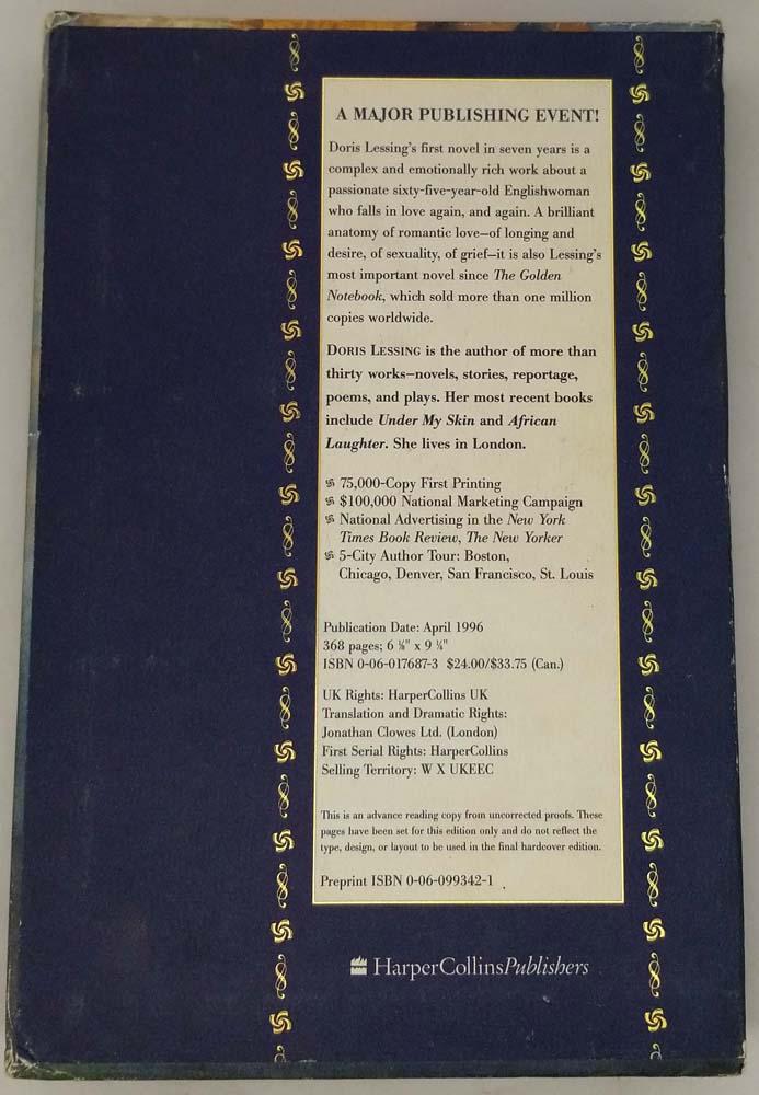 Love, Again - Doris May Lessing 1995   1st Edition ARC Proof