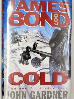 James Bond 007 in Cold - John Gardner 1996 | 1st Edition