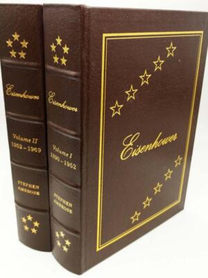Eisenhower: Soldier and President - Stephen E. Ambrose 1987 | Easton Press