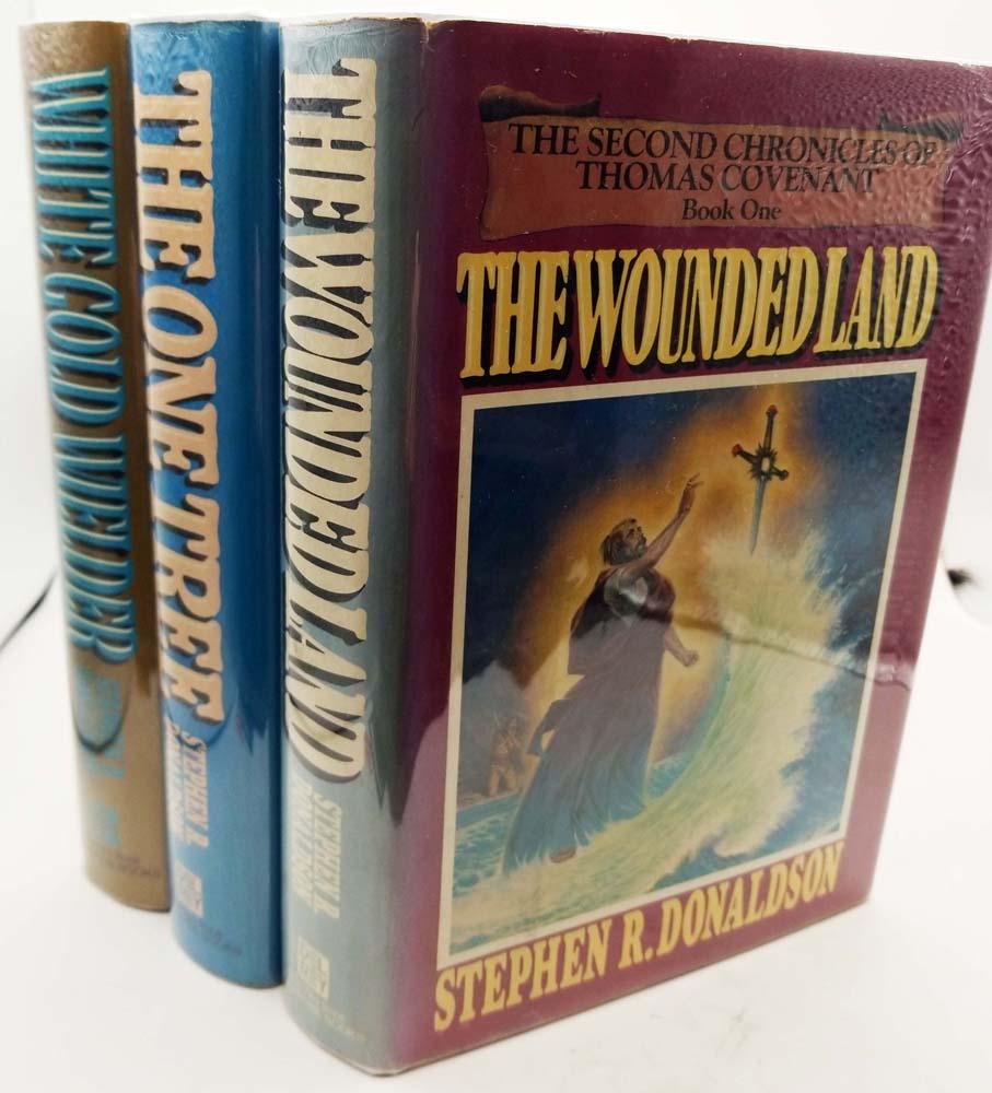 2nd Chronicles of Thomas Covenant Trilogy - Stephen R. Donaldson   1st Edition Set