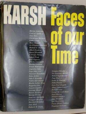 Faces of Our Time - Yousuf Karsh 1972 | SIGNED