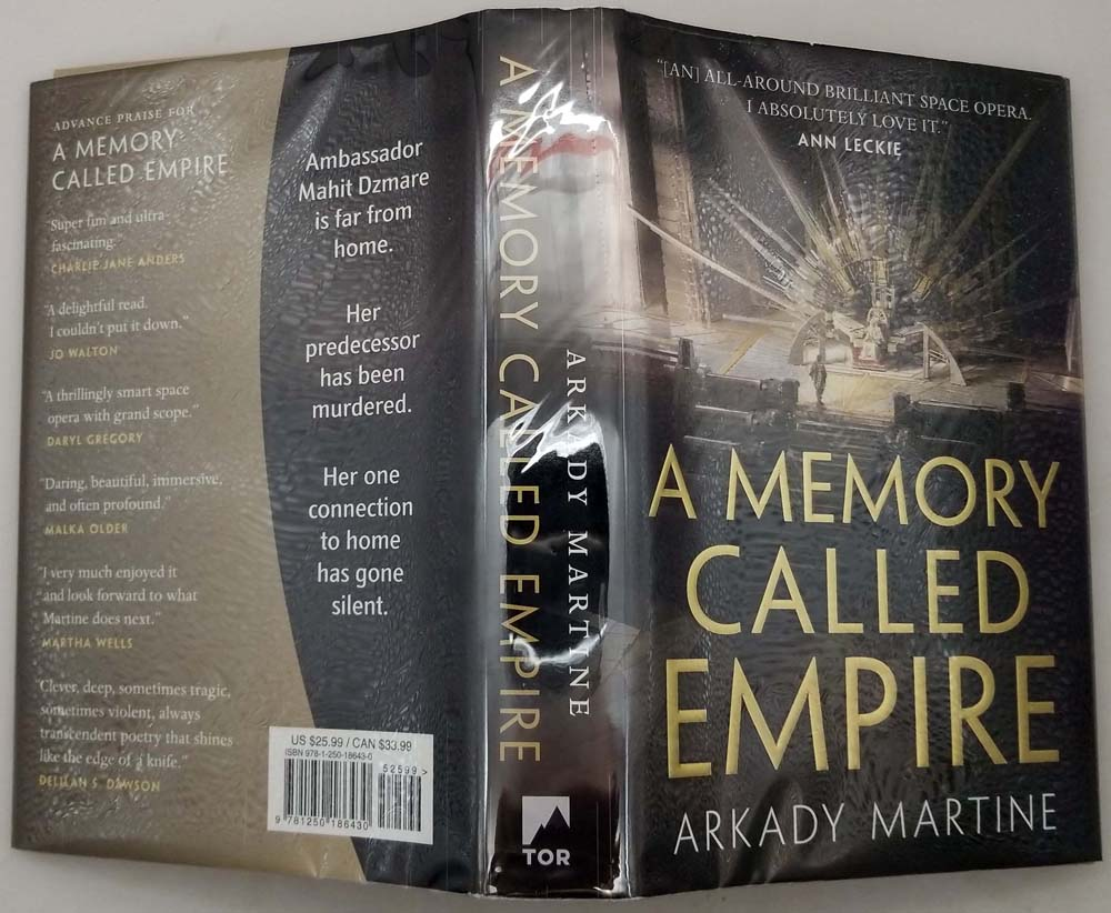 A Memory Called Empire - Arkady Martine 2019 | 1st Edition
