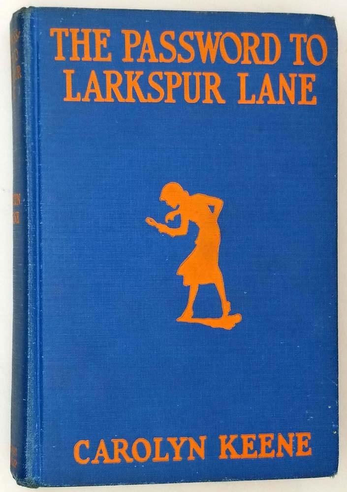 Nancy Drew - The Password to Larkspur Lane 1933