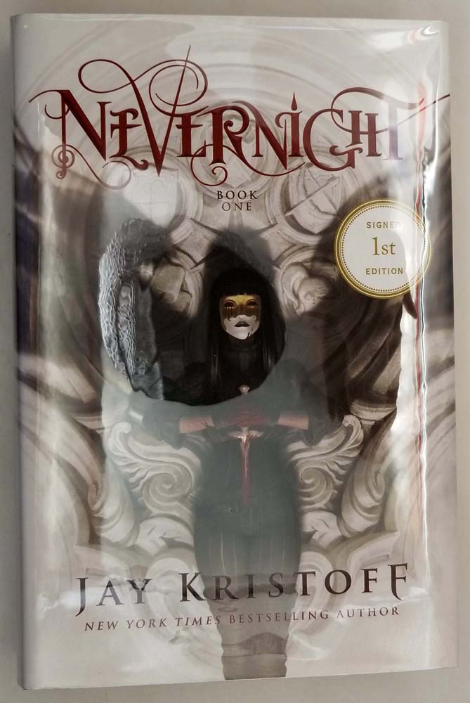 Nevernight - Jay Kristoff 2016 | 1st Edition SIGNED