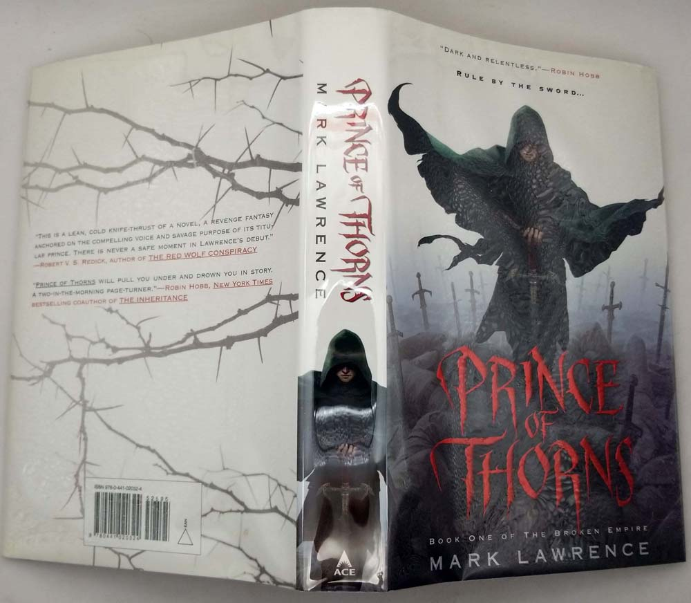Prince of Thorns - Mark Lawrence 2011 | 1st Edition