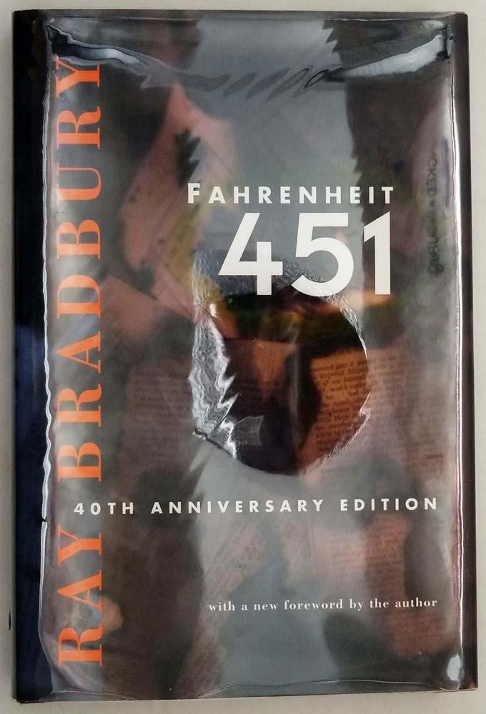 Fahrenheit 451 - Ray Bradbury 1993 SIGNED