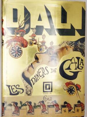 Les Diners/Vins de Gala - Salvador Dali 1973 | 2 Vols. 1st Edition