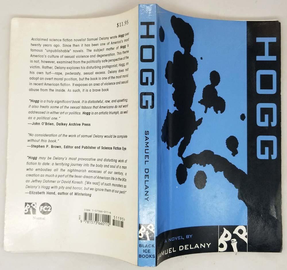 Hogg - Samuel R. Delany 1996   1st Edition