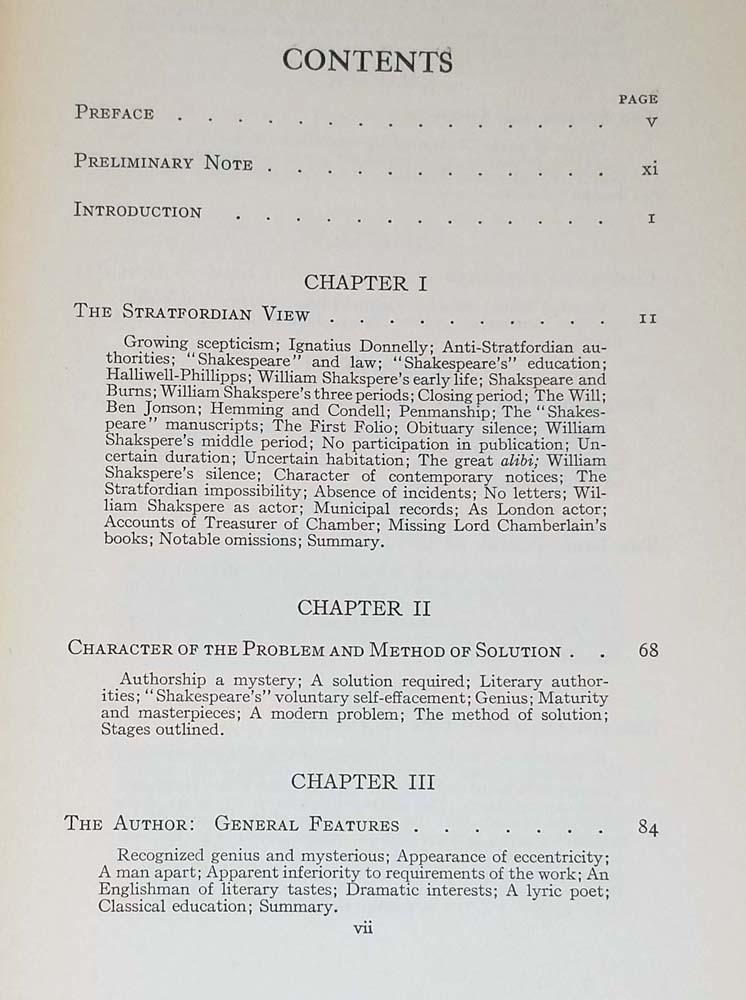 Shakespeare Identified - J. Thomas Looney 1920   1st Edition