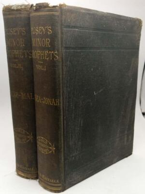 The Minor Prophets with a Commentary - Edward Bouverie Pusey 1885 | 1st Edition