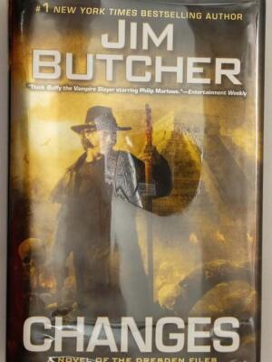 Changes (Dresden Files #12) - Jim Butcher | 1st Edition SIGNED