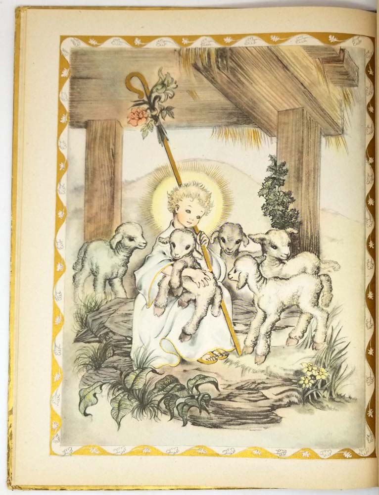 A Child's Book of Prayers - Louis Raymond 1941 (Masha Illus.) | 1st Edition