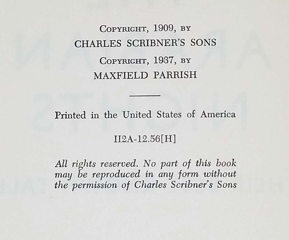 Arabian Nights - Maxfield Parrish 1937