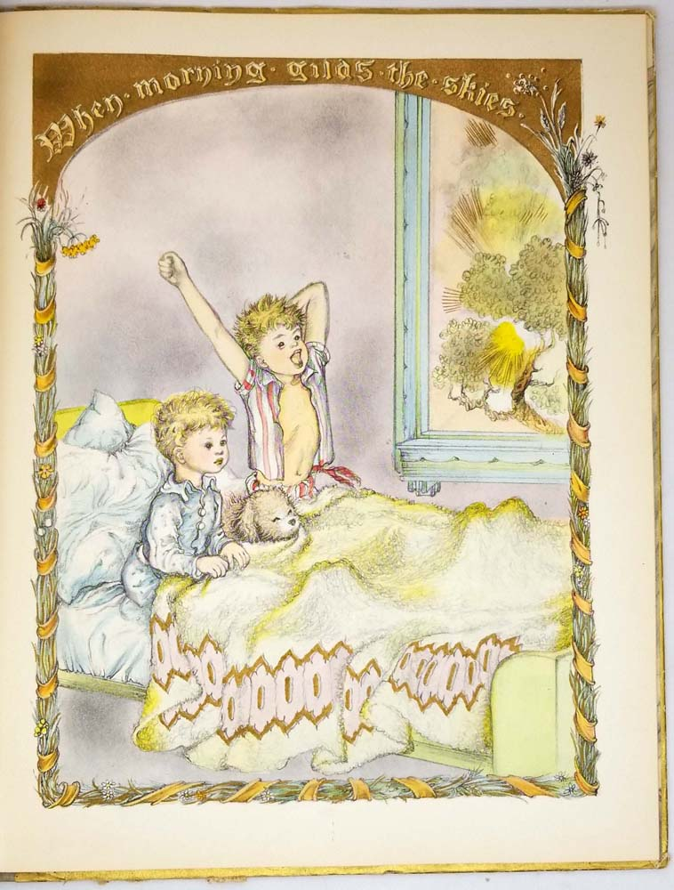 A Child's Book of Hymns - Marjorie Morrison Wyckoff (Illus. Masha) 1945 | 1st Edition