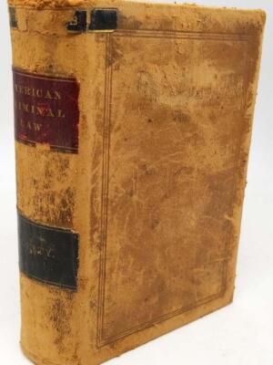 Compendium of American Criminal Law - Robert Desty 1882 | 1st Edition