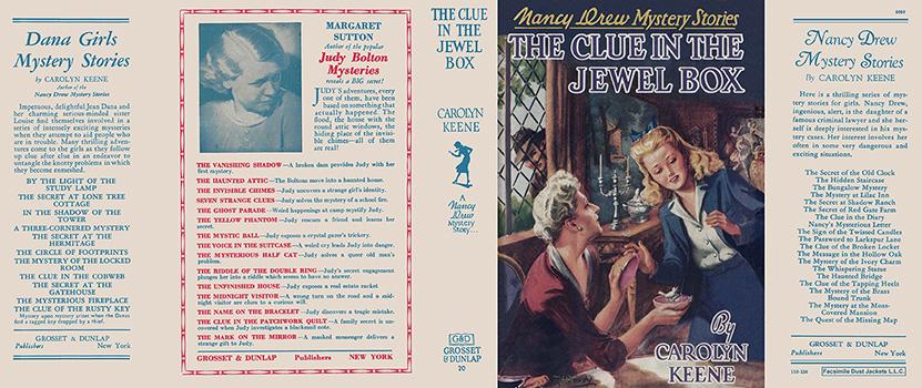 Nancy Drew 20 Clue In The Jewel Box 1943A-1