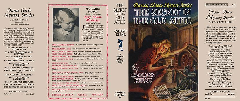 Nancy Drew 21 Secret In The Old Attic 1944A-1
