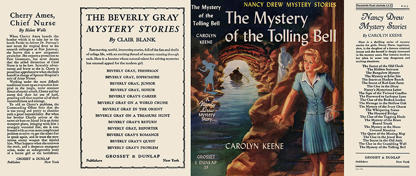 Nancy Drew 23 Mystery Of The Tolling Bell 1946A-1