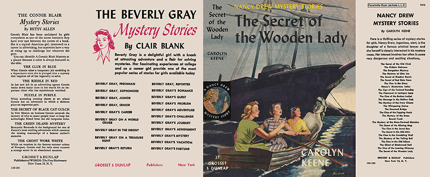 Nancy Drew 27 Secret Of The Wooden Lady 1950A-1