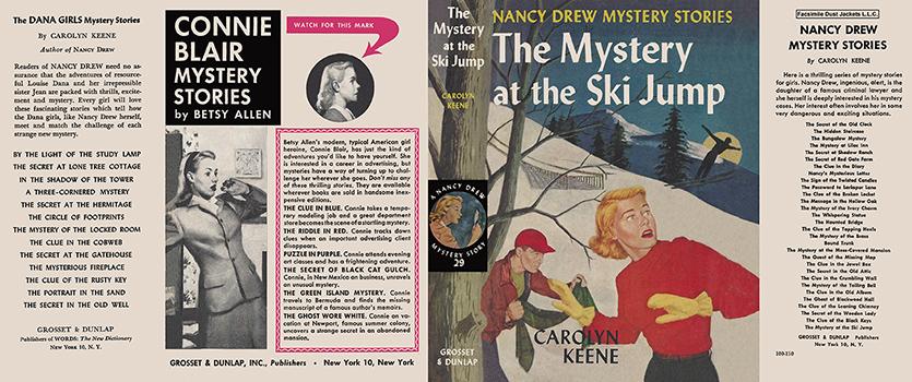 Nancy Drew 29 Mystery At The Ski Jump 1952A 1