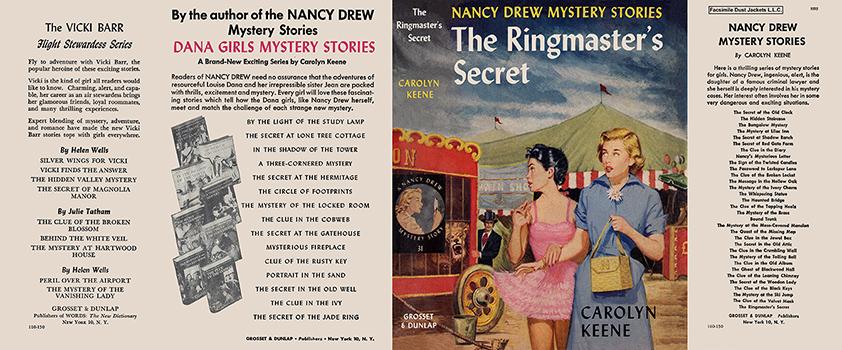 Nancy Drew 31 Ringmaster's Secret 1953A-1