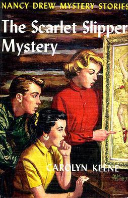 Nancy Drew 32 Scarlet Slipper Mystery