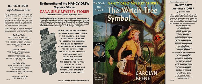 Nancy Drew 33 Witch Tree Symbol 1955C 1