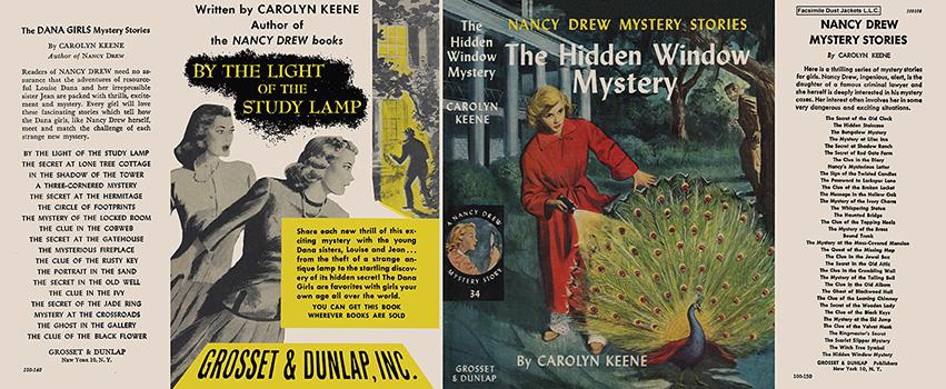 Nancy Drew 34 Hidden Window Mystery 1957A-1
