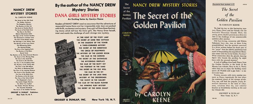 Nancy Drew 36 Secret Of The Golden Pavilion 1959A-1