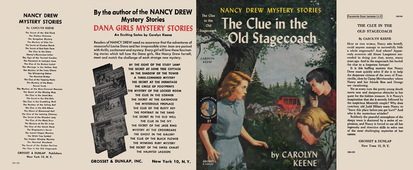 Nancy Drew 37 Clue In The Old Stagecoach 1960A-1
