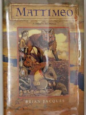 Mattimeo (Redwall Book 3) - Brian Jacques 1990 | 1st Edition