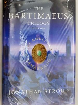 The Amulet of Samarkand: The Bartimaeus Trilogy, Book 1 - Jonathan Stroud   1st Edition SIGNED