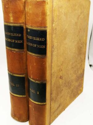 The Uncivilized Races of Men - J. G. Wood 1870   1st Edition
