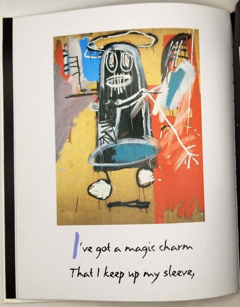 Life Doesn't Frighten Me - Maya Angelou (Basquiat Illus.) 1993   1st Edition